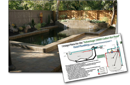 Koi pond design sacramento koi for Koi pond volume calculator